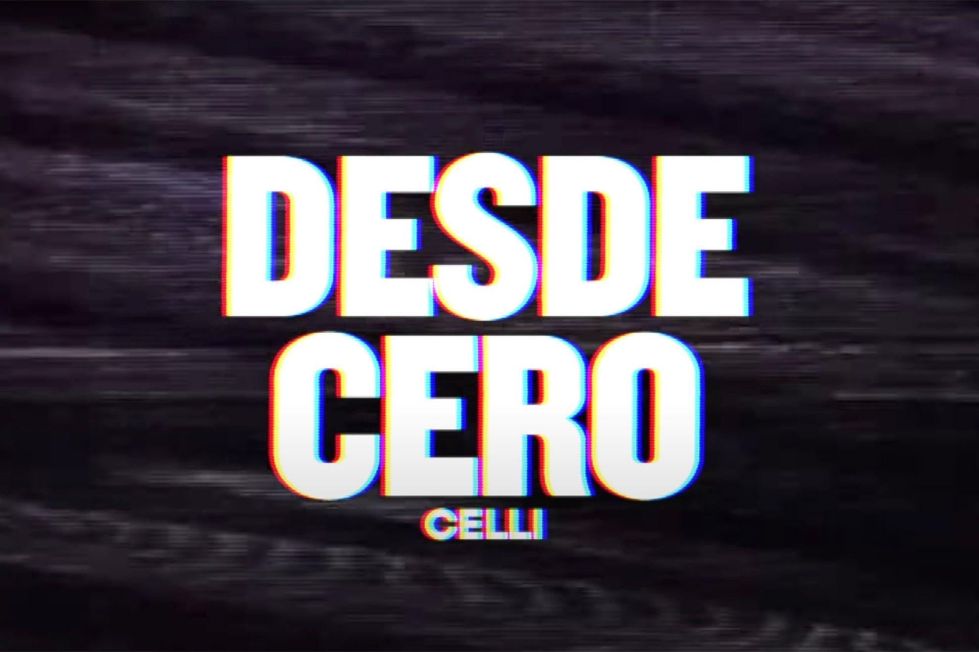 """Santi Celli recorre su lanzamiento como solista en """"Desde cero"""""""