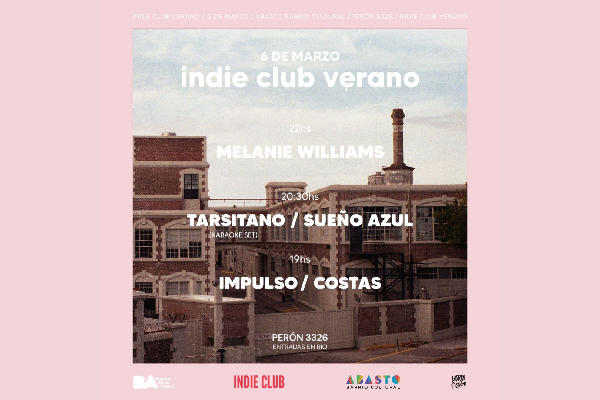 Indie Club Verano: 5 shows para despedir el calor