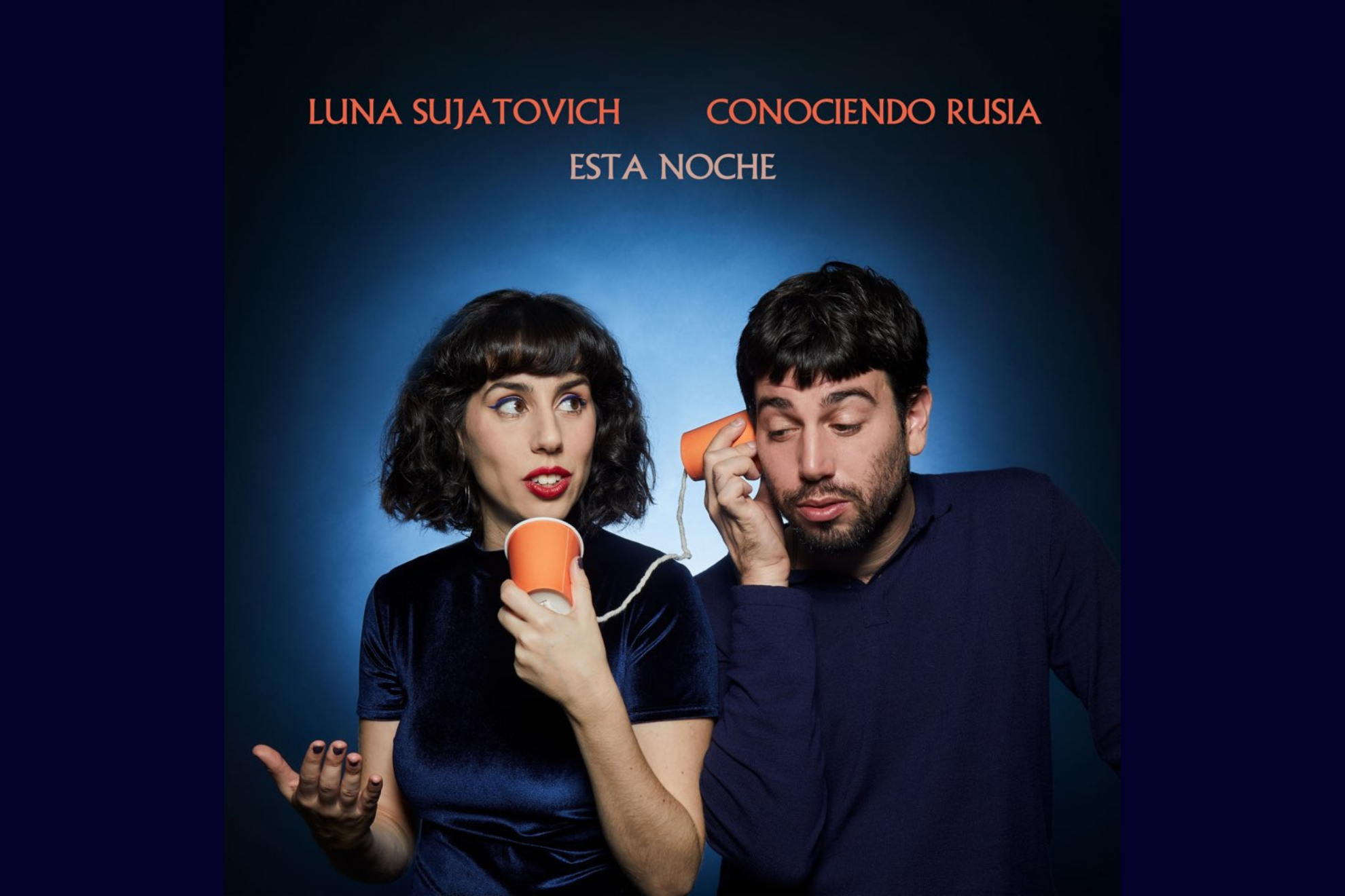 """Luna Sujatovich nos presenta """"Esta noche"""", una colaboración con Conociendo Rusia"""