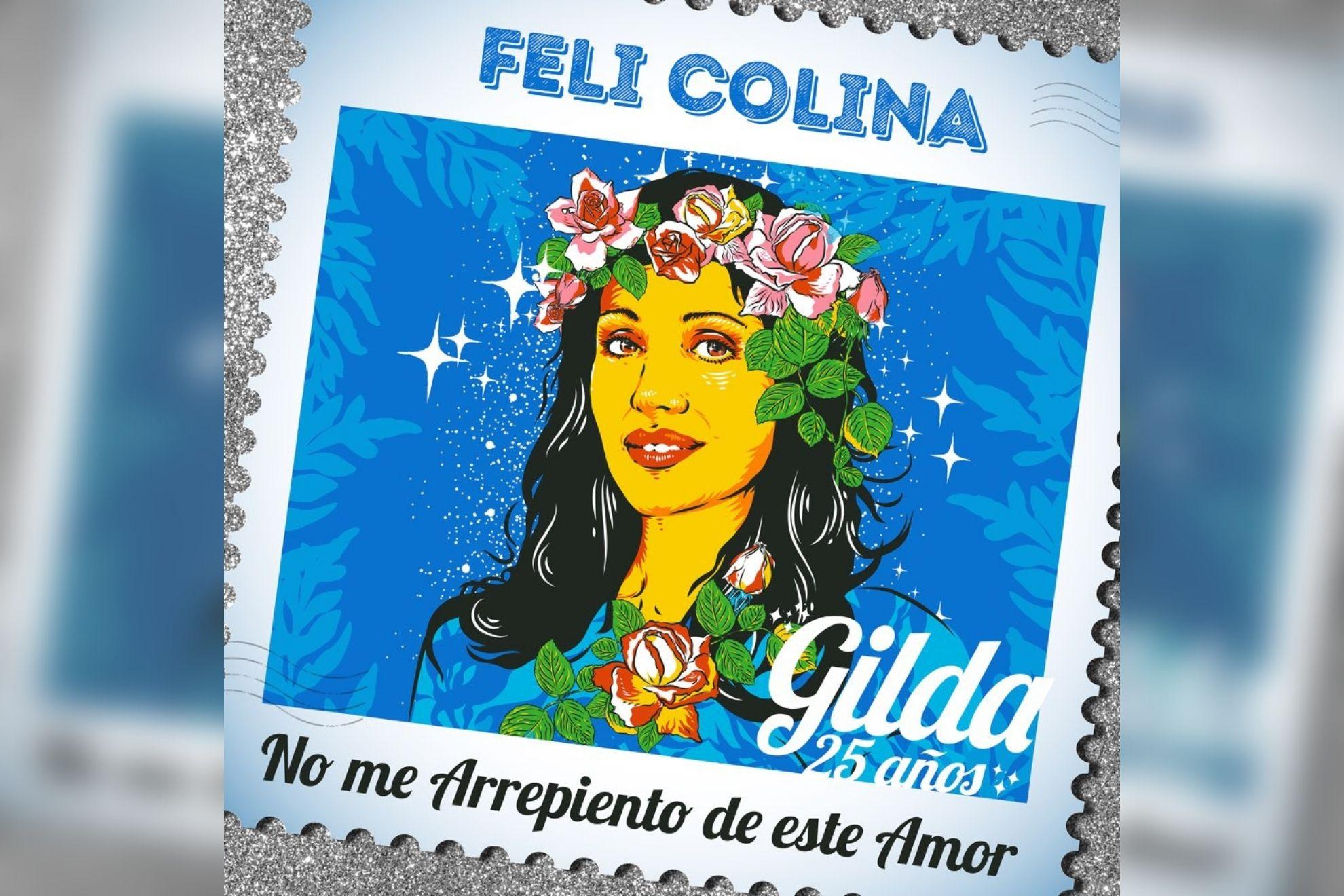"Feli Colina reversionó a Gilda con ""No me arrepiento de este amor"""